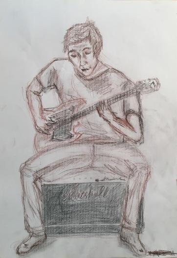 Bluesman by Martina Karra